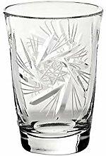 CRISTALICA Wodkaglas Schleuderstern 50ml
