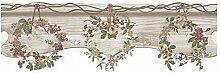 CRISTIANA MASI–Bordo-Tapete Blumen Country 2588mit Position Rustikal und Shabby-Umgebungen Rein Provinzieller und klassischen