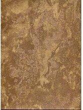CRISTIANA MASI–Papier-Tapete Angelica–5357Farbe Bronze aus Vinyl Effekt Dekofarbe sandgestrahl