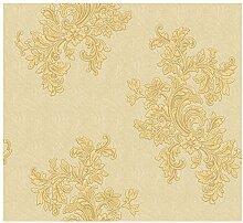 CRISTIANA MASI–Papier-Tapete Sie–7912Für Sitzgruppe Klassische Damast in Blossom