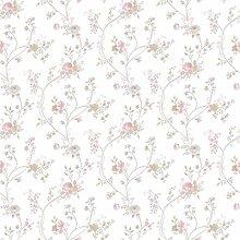 CRISTIANA MASI–Tapete Blumen Country 2527mit Position Punkt von Rose vom Design Romantico Rein-Umgebungen Shabby und provinzieller