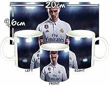Cristiano Ronaldo Real Madrid CR7 E Tasse Mug