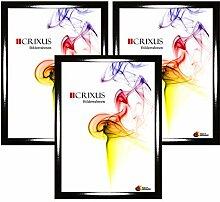 Crixus35 Bilderrahmen 3er Set für 12 x 22 cm