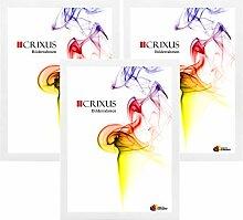 Crixus35 Bilderrahmen 3er Set für 13 x 19 cm