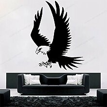 Crjzty Applique Dekoration Adler Wandtattoo