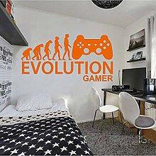 Crjzty Applique Schlafzimmer Wand stickerGamer Ps4