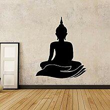 Crjzty Buddha Kindergarten Wandaufkleber Vinyl