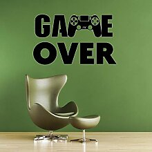 Crjzty Gamer PS4 Wandtattoo Eat Sleep Game