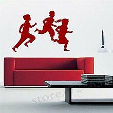 Crjzty Große Kinder Spielen Kinderzimmer Wandbild