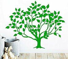 Crjzty Lustige Baum Wandkunst Aufkleber Dekoration