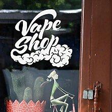 Crjzty Nette Vape Shop Selbstklebende Vinyl