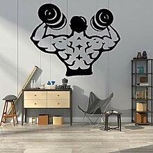 Crjzty Sport Wandkunst Aufkleber Dekoration Mode