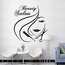 Crjzty Zarte schönheitssalon Wandkunst Aufkleber