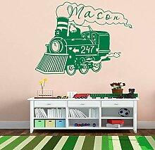 Crjzty Zug Lokomotive Wand Vinyl Aufkleber Für