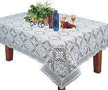 Crochet Spitze Tischdecke rechteckig