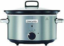 Crock-Pot CSC028X Schongarer 3,5 l aus gebürstetem Edelstahl