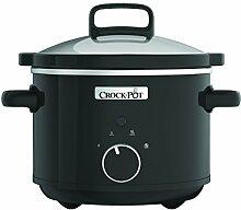 Crock-Pot CSC046X Traditioneller CrockPot Schongarer 2,4 L aus Edelstahl