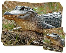 Crocodile 'Love You Mum' Zwillings