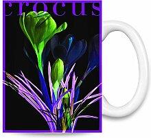 Crocus Kaffee Becher