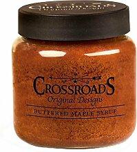 Crossroads Kerze 16Unze Jar Kerze–Buttered