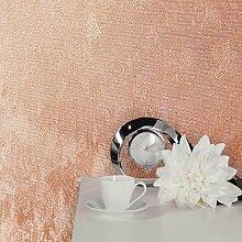 Crown Alexis Textur Tapete, rose gold, Ganze Rolle