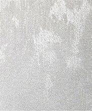Crown Alexis Textur Tapete, silber, Ganze Rolle