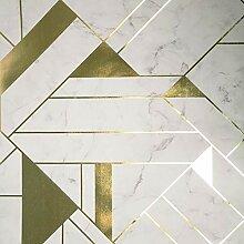 Crown Luxe Mayfair Islington Geometric Tapete