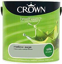 Crown Silk Emulsion Wandfarbe,–Mellow Sage