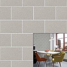 Crown Wallcoverings London Glitzer-Tapete, Grau