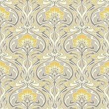 "Crown Wallcoverings Tapete ""Flora Nouveau"""
