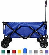 CROWNSTARQI Gartenwagen Blue Wagon
