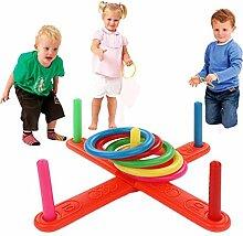 Crteefrech Ringwurfspiel, Spielzeug, Wurfring,