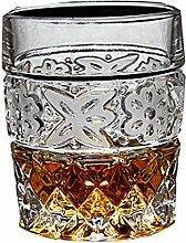 Crystal Cup Weingläser Whiskey Glas kreative