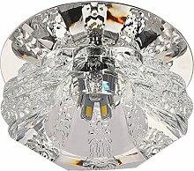 Crystal Glas Balkon 5w LED Deckenleuchte Lampe Beleuchtung