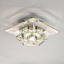 Crystal Glas Balkon 6w LED Deckenleuchte Lampe Beleuchtung