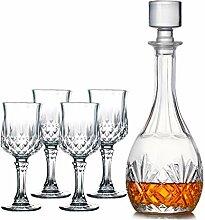 Crystal Glass Opera Dekanter groß Runde Wein
