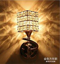Crystal Wand lampe Wohnzimmer Schlafzimmer Bett kreative Individualität Mode gang Flur Clothing Store Caf? Hotel, 100 mm