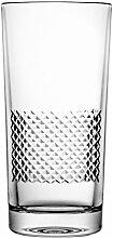 Crystaljulia 04339 Longdrinkglas Bleikristall Klar