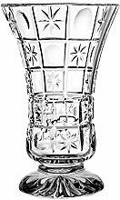 Crystaljulia 12933 Vase, Bleikristall, Klar