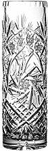 Crystaljulia 13657 Vase, Bleikristall, Klar