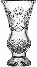 Crystaljulia 17117 Vase, Bleikristall, Klar