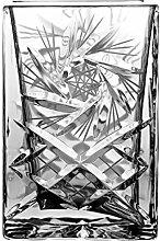 Crystaljulia 2305 Vase eckig Bleikristall