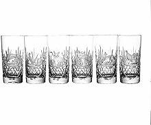 Crystaljulia 2787 Longdrinkglas, Bleikristall, Klar