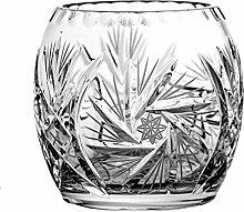 Crystaljulia 5034 Vase, Bleikristall, geschliffen,