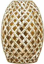 Crystaljulia 5433 Vase, Bleikristall, Gold