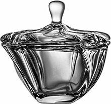 Crystaljulia Bonboniere, Glas, 12cm, 11 x 11 x 12