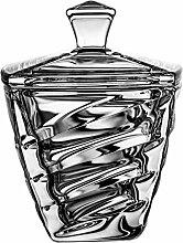 Crystaljulia Bonboniere, Glas, 14cm, 10,5 x 10,5 x