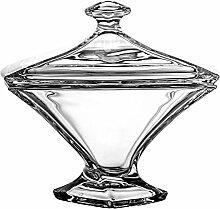 Crystaljulia Bonboniere, Glas, 17cm, 17 x 17 x 17