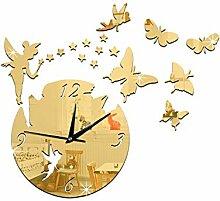 Crysyu Färliche Zauberstab Uhr Studierendenzimmer