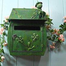 CS Grüne wasserdichte Mailbox des im Freien